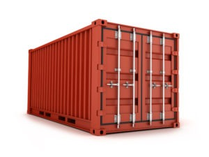 A standard Shipping Container
