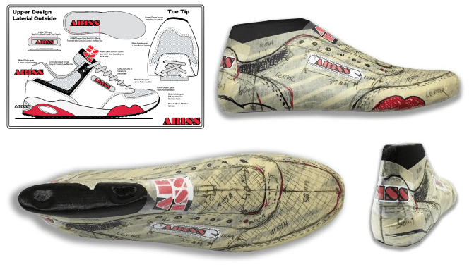 How to design shoes