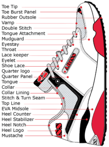 How to design a running shoe