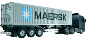 40 Foot container truck