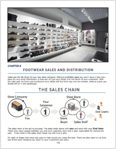 Wholesale distributors of shoes