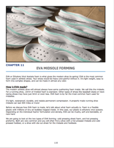 Chapter 11 : EVA midsole Forming1 What is EVA made of? EVA pressing operations