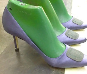 how high heel shoes are made