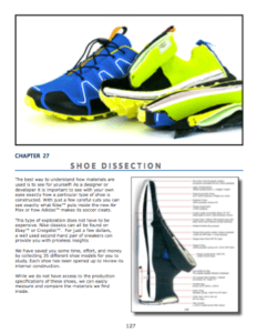 Shoe dissections  Cross section views of popular shoe styles. The best way to understand how materials are used is to see for yourself!