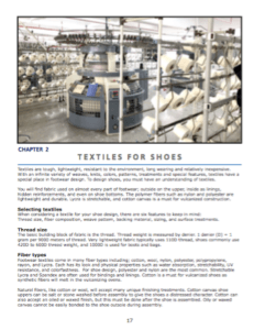 Textiles for Shoes - Shoe Fabrics