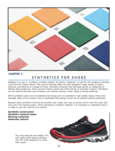 Synthetics for shoes  Man-made materials for the modern shoe.