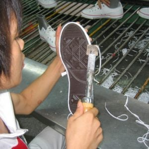 vulcanized shoe construction